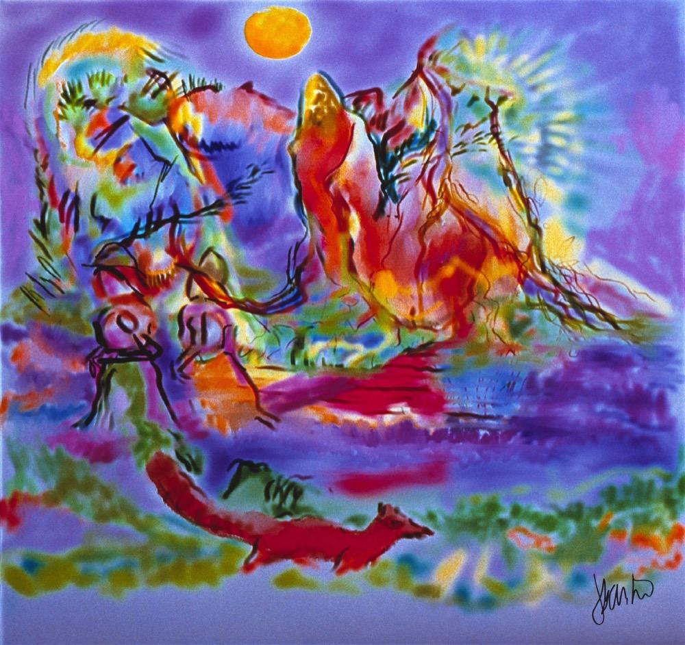 YellowHeart-Jerry Garcia-Junglescape-1992